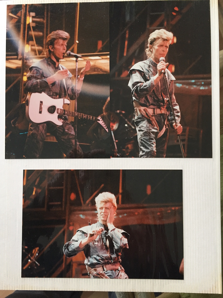 David Bowie Glass Spider Tour, Photo by Roberto R Hernandez